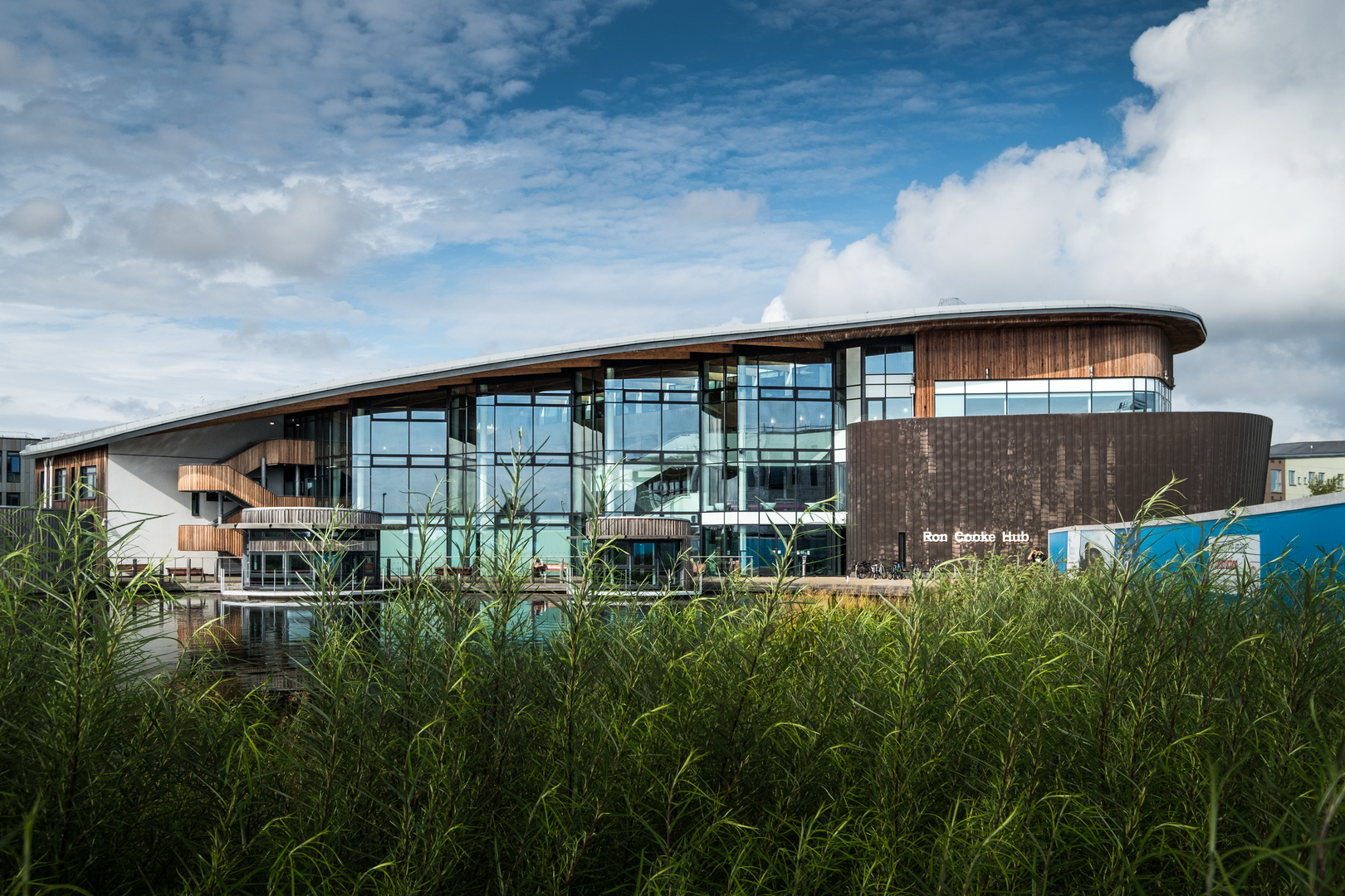 Ron Cooke Hub, University of York (Mark Woodward Photography)